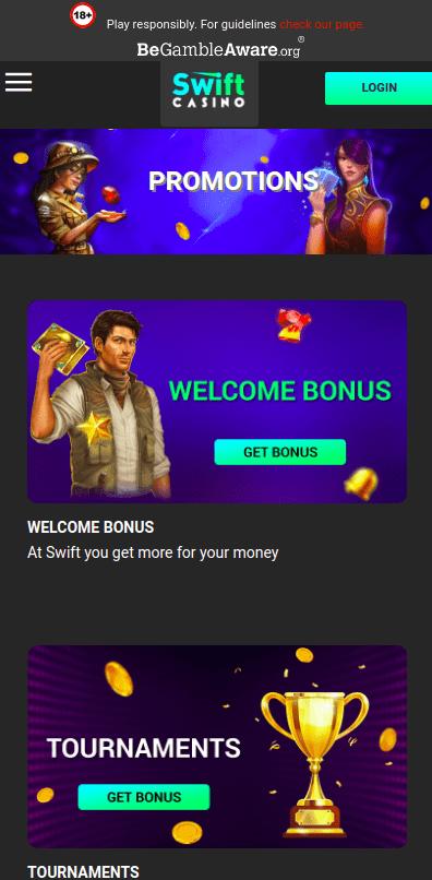 Swift Bonus Mobile
