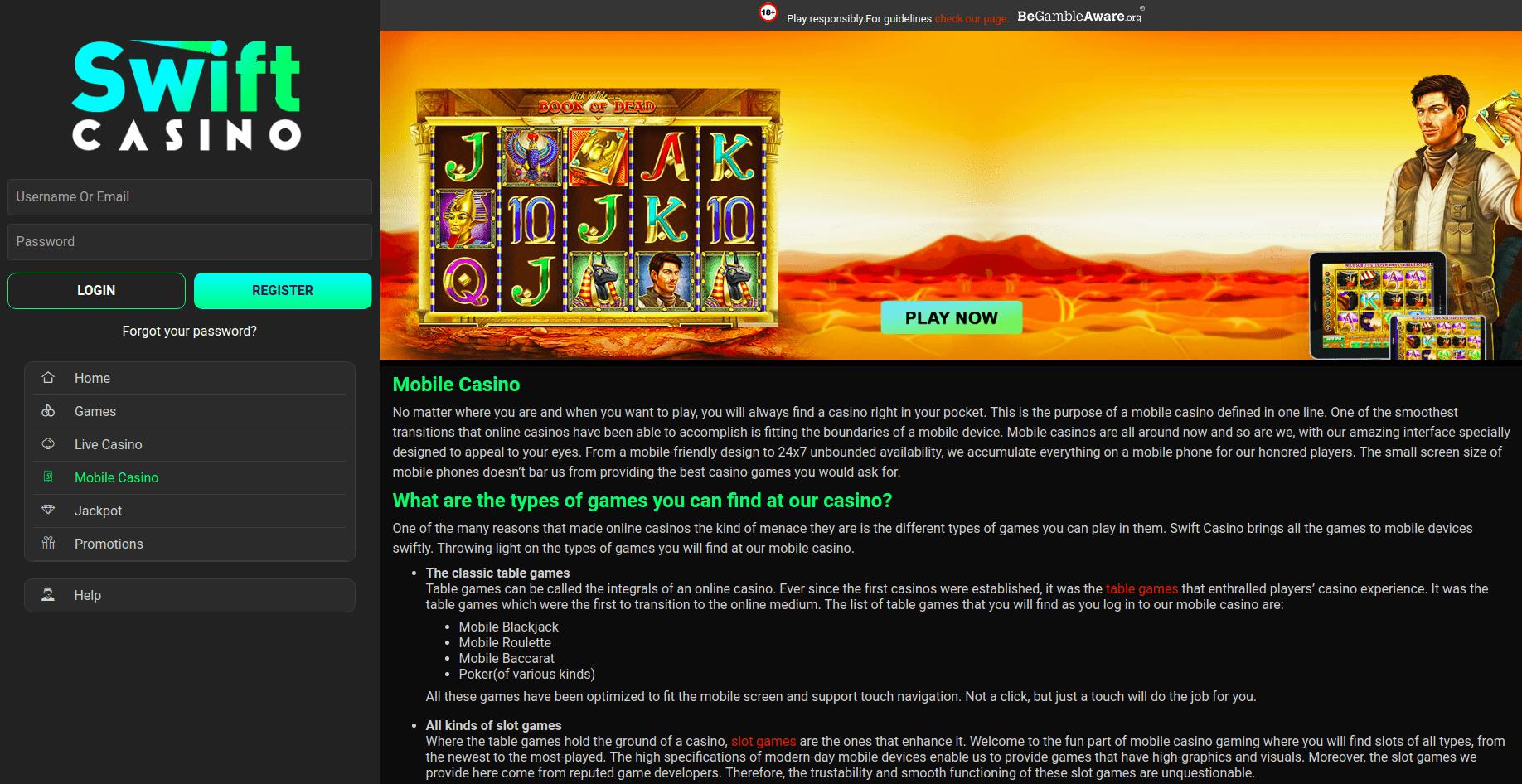 Swift Page Desktop