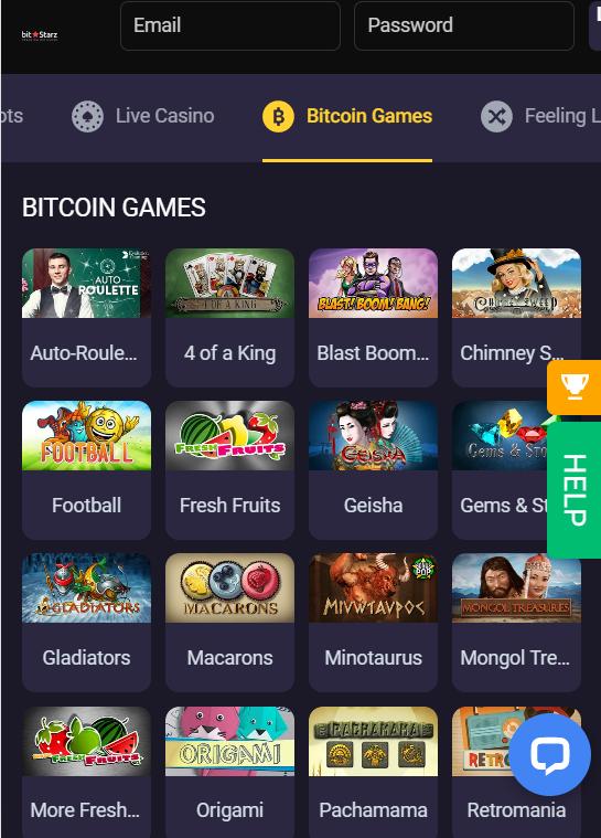 Bitstarz bitcoin mobile