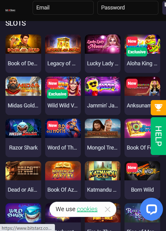 Bitstarz slots mobile