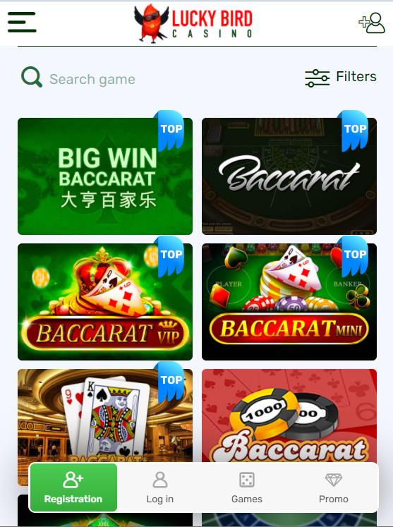 LuckyBird games mobile