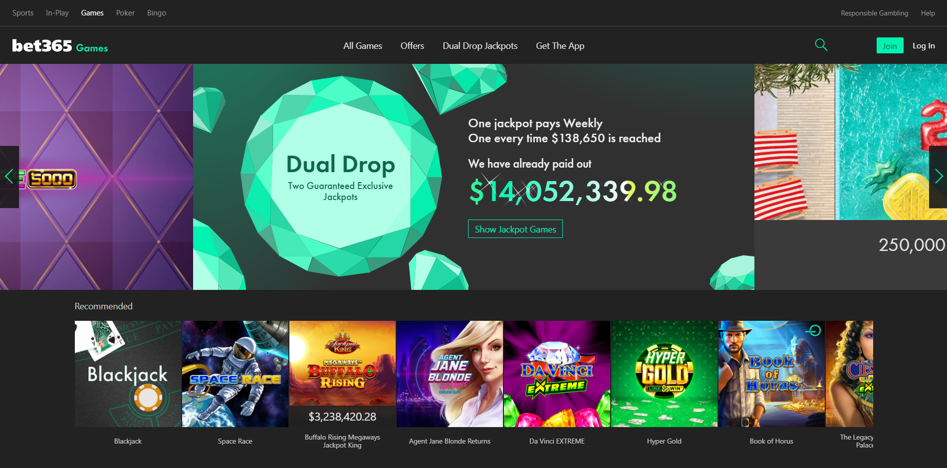 bet365 games desktop