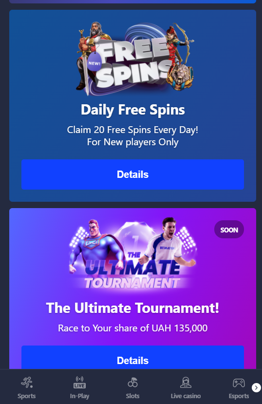 betmaster promo mobile