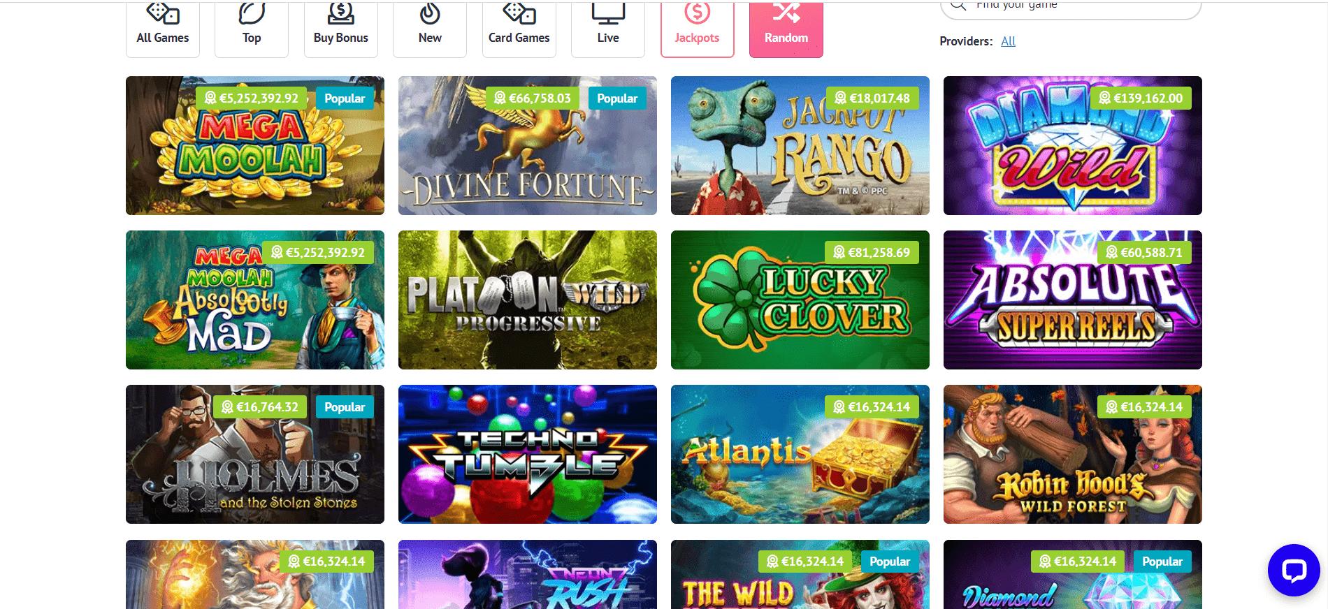 slotum jackpots desktop