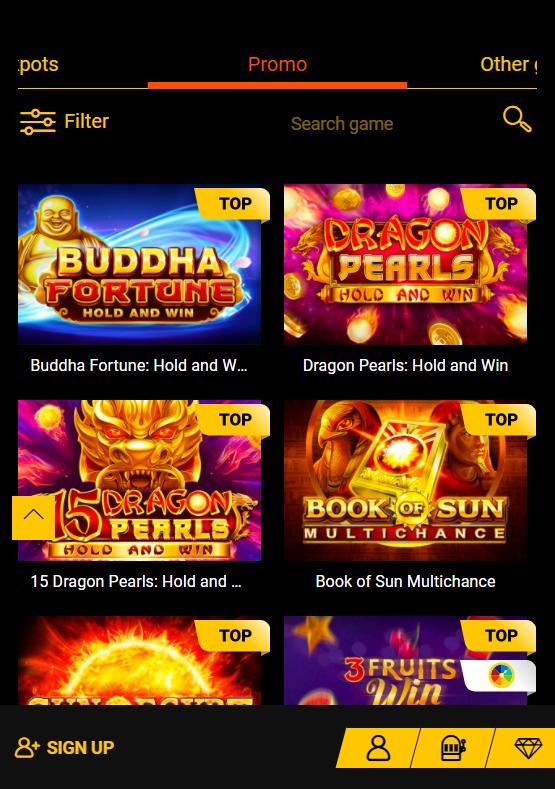spinamba promo mobile